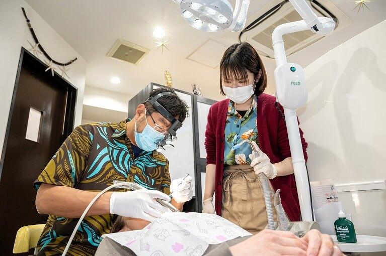 大学臨床教授の歯科医師と連携・幅広い症例に対応